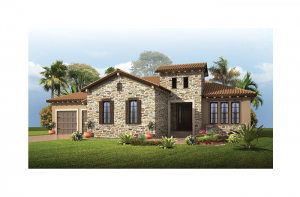 Wilshire - Tuscan Elevation - 2,989 - 3,069 sqft, 4 Bedroom, 3 Bathroom - Cardel Homes Tampa