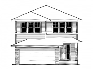 New home in HAWTHORNE 2 in Walden, 2,529 SQFT, 3 Bedroom, 2.5 Bath, Starting at 564,000 - Cardel Homes Calgary