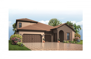 Endeavor 3 FHR - Mediterranean with Option #5 Elevation - 2,500 - 3,108 sqft, 4 - 5 Bedroom, 3 - 4 Bathroom - Cardel Homes Tampa