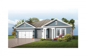 Endeavor 3 FHR - Traditional Cottage Elevation - 2,500 - 3,108 sqft, 4 - 5 Bedroom, 3 - 4 Bathroom - Cardel Homes Tampa