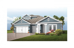 Endeavor 3 FHR - Traditional Cottage with Option #5 Elevation - 2,500 - 3,108 sqft, 4 - 5 Bedroom, 3 - 4 Bathroom - Cardel Homes Tampa
