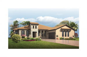 Dolcetto 4 - Tuscan Elevation - 3,270 - 3,423 sqft, 3 Bedroom, 3 Bathroom - Cardel Homes Tampa
