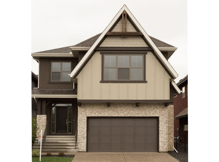 New Calgary Single Family Home Quick Possession Selkirk 2 in Shawnee Park, located at 751 SHAWNEE DRIVE SW Built By Cardel Homes Calgary