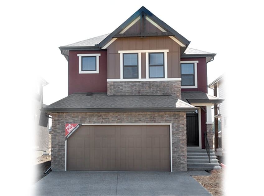 New Calgary Single Family Home Quick Possession Medora in Shawnee Park, located at 755 SHAWNEE DRIVE SW Built By Cardel Homes Calgary