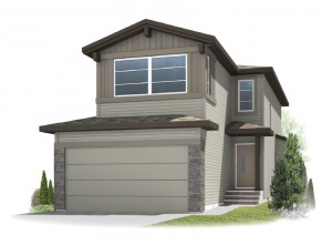 New home in SANDHURST 2 in Walden, 1,839 SQFT, 3 Bedroom, 2.5 Bath, Starting at 489,000 - Cardel Homes Calgary