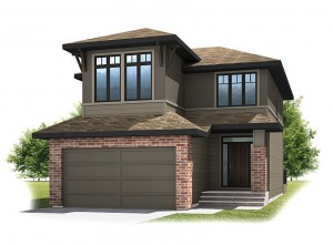 MIRO - Prairie S3 Elevation - 2,028 sqft, 3 Bedroom, 2.5 Bathroom - Cardel Homes Calgary