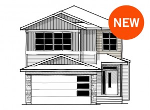New home in ASTER in Savanna, 2,600 SQ FT, 4 Bedroom, 2.5 Bath, Starting at 567,000 - Cardel Homes Calgary