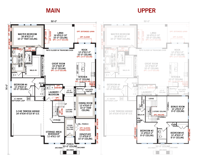 New Tampa Single Family Home Quick Possession ENDEAVOR 2 Floorplan in FishHawk Ranch, located at 5820 SHELL RIDGE DRIVE<br />