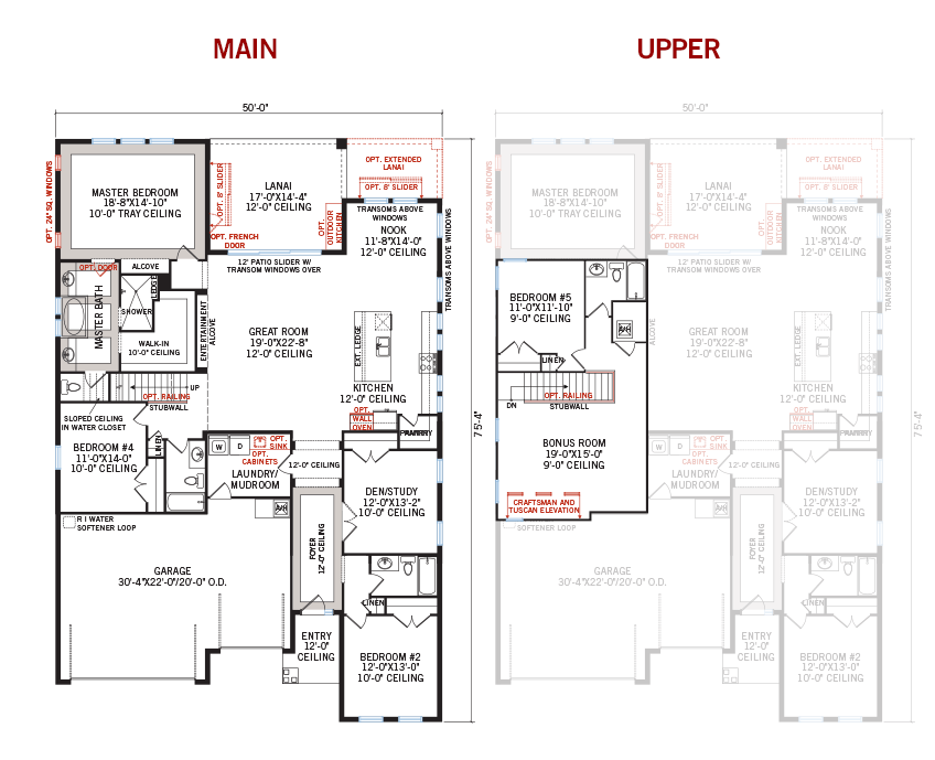 New Tampa Single Family Home Quick Possession ENDEAVOR 3 Floorplan in FishHawk Ranch, located at 5805 JASPER GLEN DRIVE<br /> LITHIA, FL 33547 Built By Cardel Homes Tampa