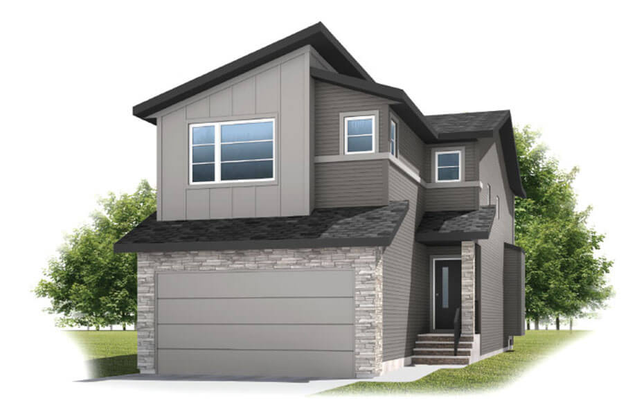 New Calgary Single Family Home Quick Possession Essence in Walden, located at 145 Walgrove Heath SE Built By Cardel Homes Calgary