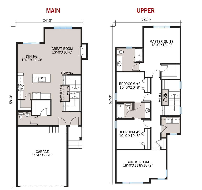 New Calgary Single Family Home Quick Possession Essence Floorplan in Walden, located at 145 Walgrove Heath SE Built By Cardel Homes Calgary