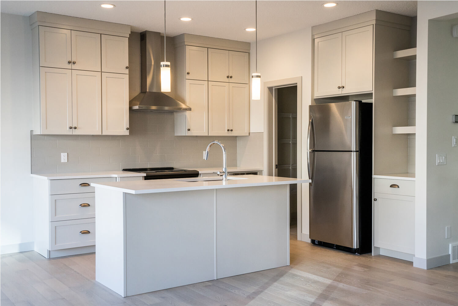 New Calgary Single Family Home Quick Possession Sandhurst 2 in Walden, located at 44 Walgrove Gardens SE Built By Cardel Homes Calgary