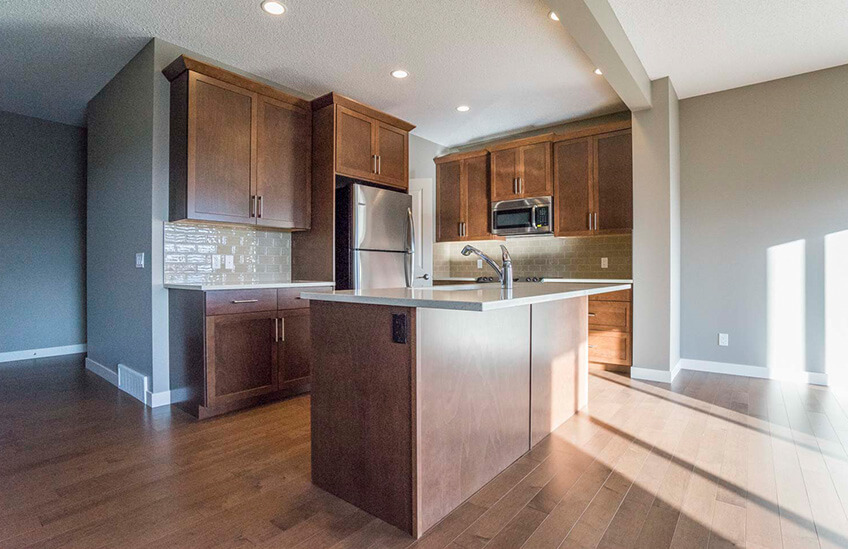 New Calgary Single Family Home Quick Possession Essence in Walden, located at 145 Walgrove Heath SE Built By Cardel Homes