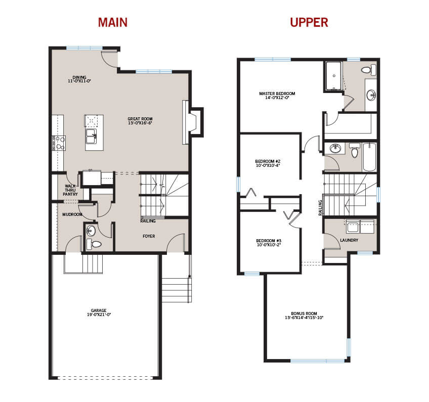 New Calgary Single Family Home Quick Possession Sandhurst 2 Floorplan in Walden, located at 101 Walgrove Gardens SE Built By Cardel Homes Calgary