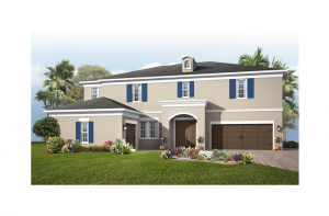 New home in TARAMORE in Enclave at Lake Padgett, 3,807 SQFT, 4 - 5 Bedroom, 3.5 - 4.5 Bath, Starting at 604,990 - Cardel Homes Tampa