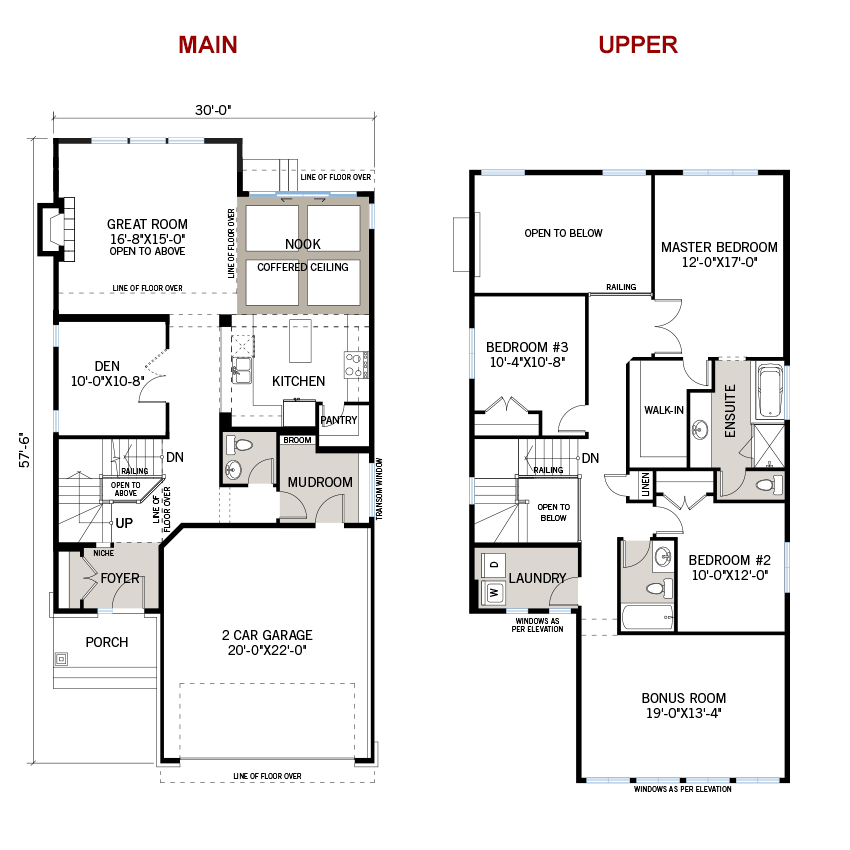 New Ottawa Single Family Home Quick Possession North Hampton Floorplan in Blackstone in Kanata South, located at 102 Westphalian Avenue, Kanata Built By Cardel Homes Ottawa