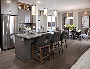 The Arriva 2 - 2,434 sq ft - 3 bedrooms - 2.5 Bathrooms -   - Cardel Homes Calgary