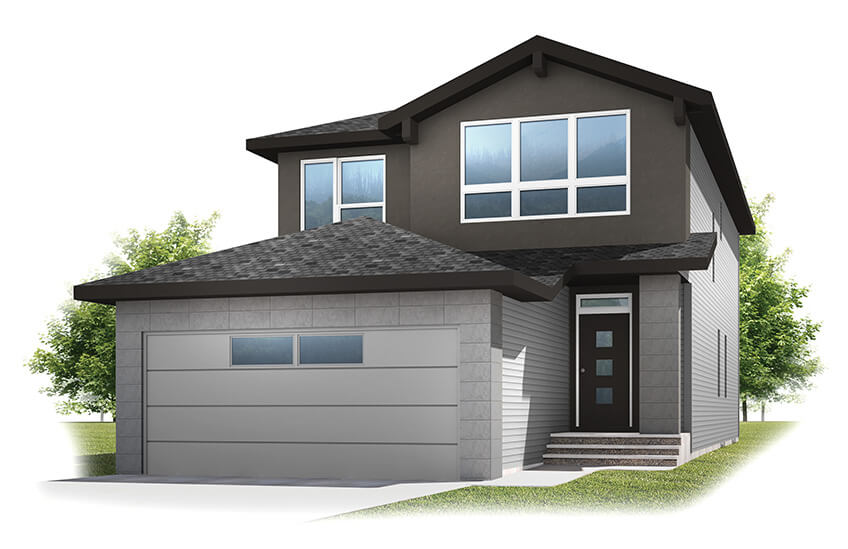 New Calgary Single Family Home Quick Possession Tandem Bay in Walden, located at 264 Walgrove Heath SE Built By Cardel Homes Calgary