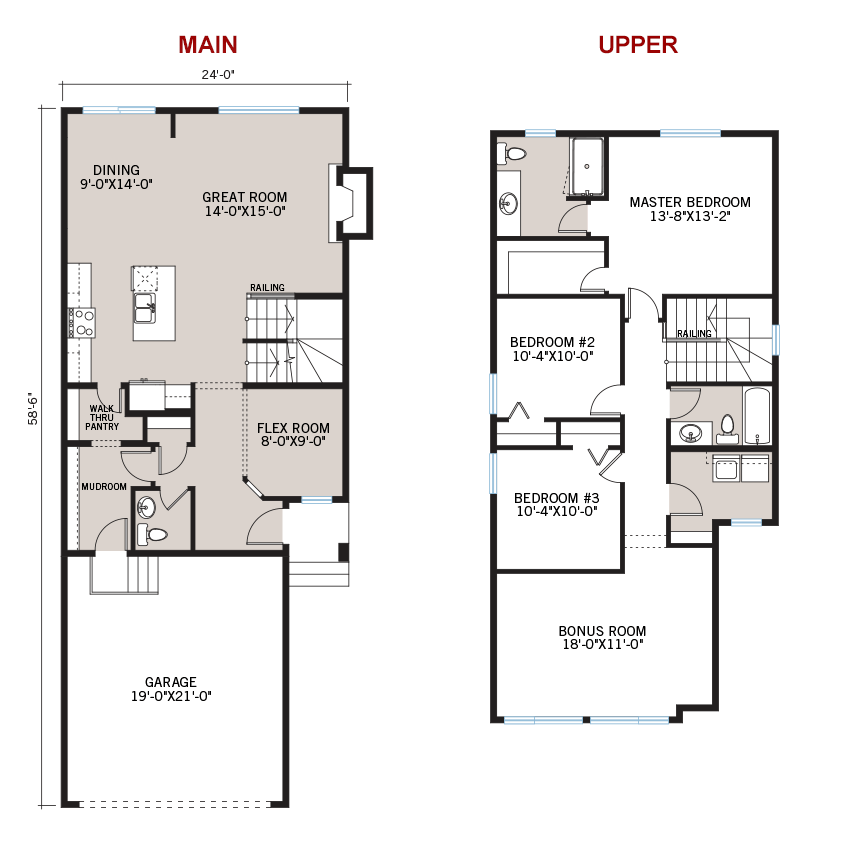 New Calgary Single Family Home Quick Possession Colbourne 2 Floorplan in Walden, located at 48 Walgrove Gardens SE Built By Cardel Homes Calgary