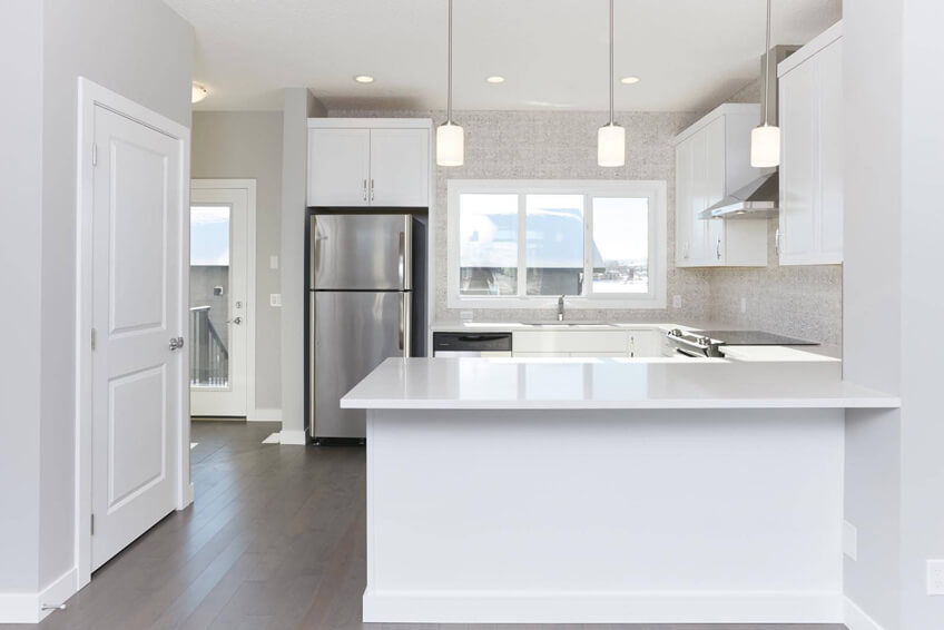 New Calgary Paired Home Quick Possession Cobalt 1 in Walden, located at 1310 Walden Drive SE Built By Cardel Homes