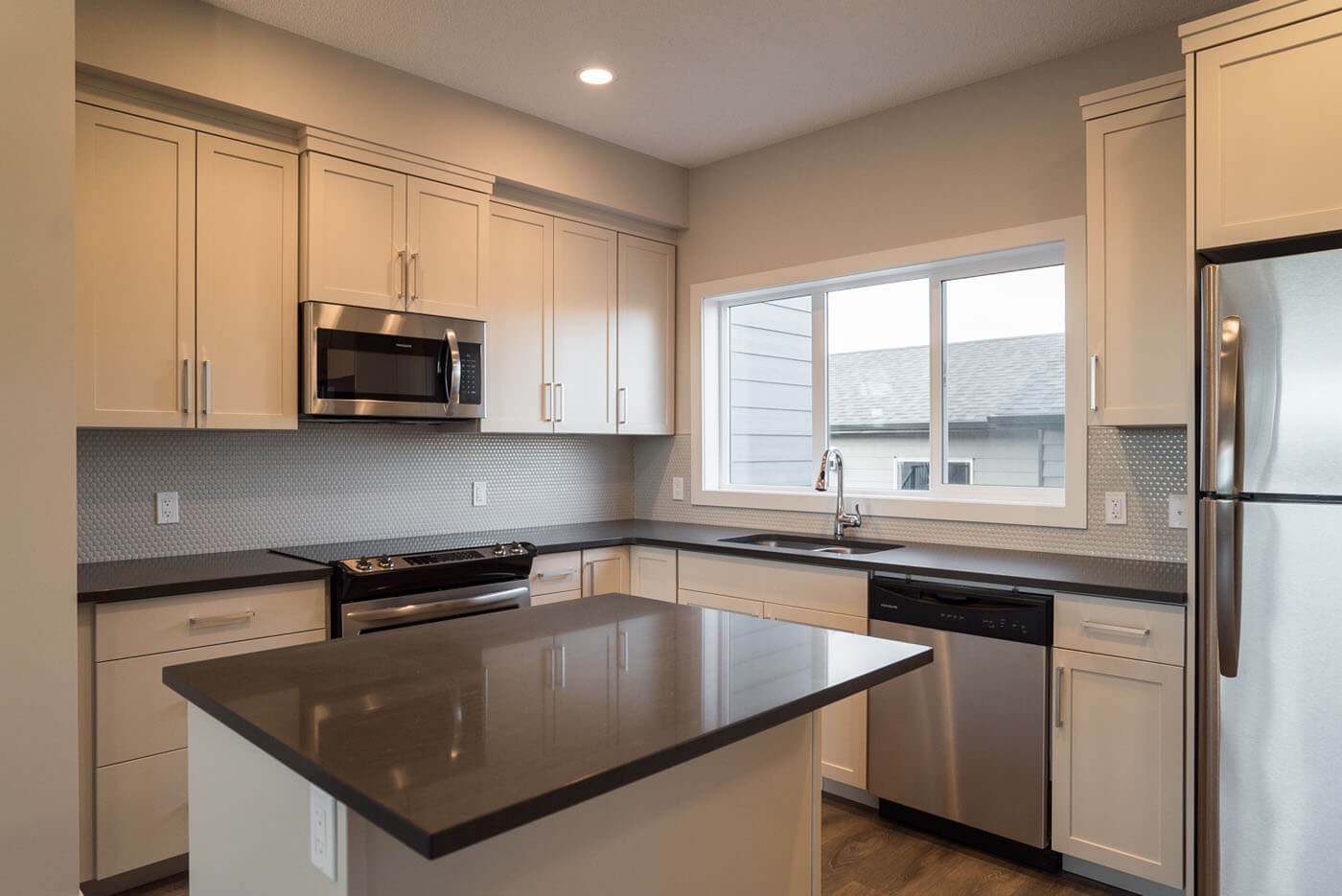 New Calgary Paired Home Quick Possession Soho 3 in Walden, located at 1347 Walden Drive SE Built By Cardel Homes Calgary