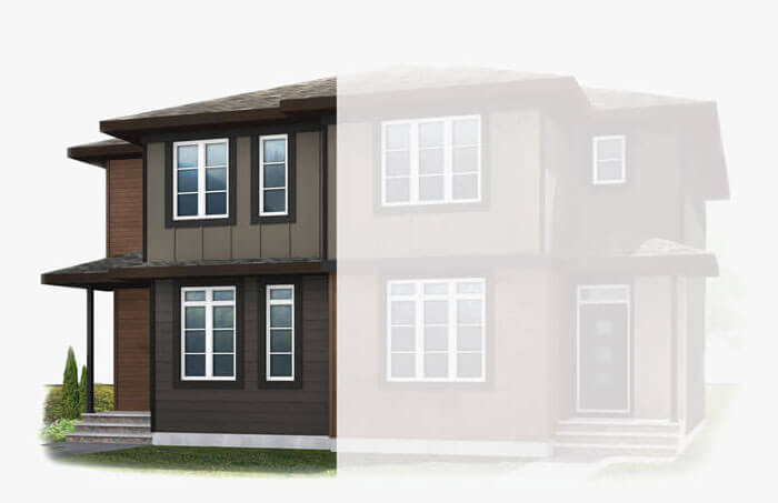 New Calgary Paired Home Quick Possession Soho 2 in Walden, located at 1351 Walden Drive SE Built By Cardel Homes Calgary
