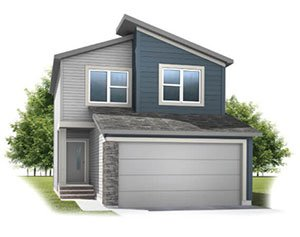 New home in INVIS 1 in Walden, 1,656 SQFT, 3 Bedroom, 2.5 Bath, Starting at 444,000 - Cardel Homes Calgary