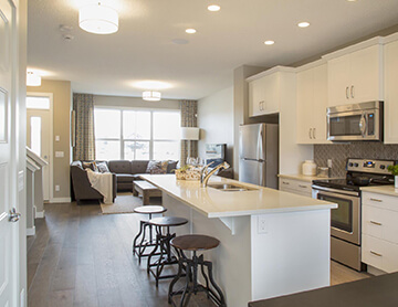 The Cobalt 1 - 1,340 sq ft - 3 bedrooms - 2.5 Bathrooms -  Visit this home in Walden - http://www.cardelhomes.com/calgary/communities/paired/walden/  - Cardel Homes Calgary