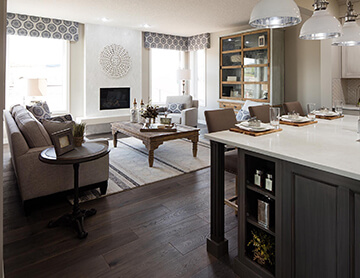 The Meyer - 2,312 sq ft - 3 bedrooms - 2.5 Bathrooms -  Visit this home in Shawnee Park  - Cardel Homes Calgary