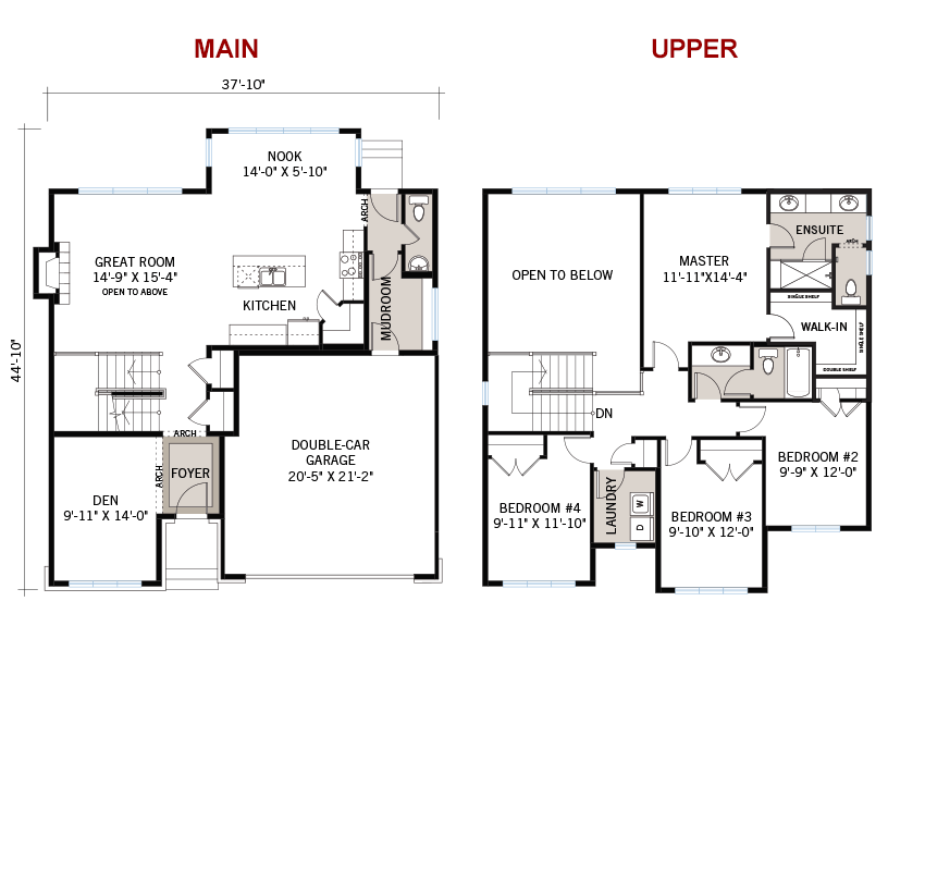 New Ottawa Single Family Home Quick Possession Laurel Floorplan in Blackstone in Kanata South, located at 305 Oxer Place, Kanata, ON Built By Cardel Homes Ottawa
