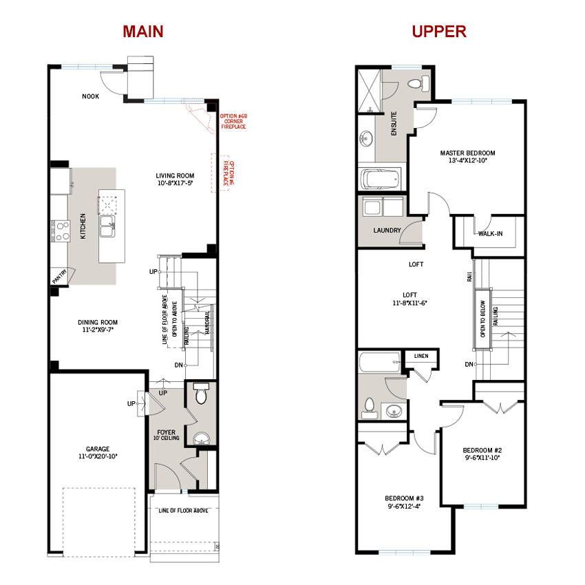 New Ottawa Towns Home Quick Possession Teak Floorplan in Millers Crossing in Carleton Place, located at 120 Ridell Street<br /> Carleton Place, ON Built By Cardel Homes Ottawa