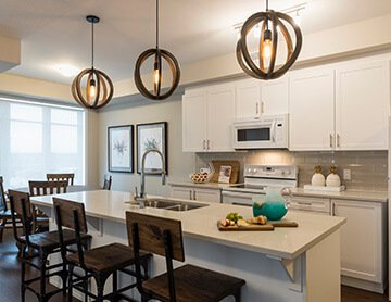 The Quartz - 1,213 sq ft - 2 bedrooms - 2 Bathrooms -  Visit this home in Blackstone  - Cardel Homes Ottawa