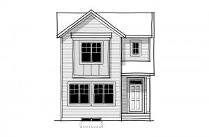 New home in ALDER 3 in Cornerbrook, 1,553 SQ FT, 3 Bedroom, 2.5 Bath, Starting at 414,000 - Cardel Homes Calgary