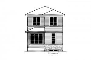 New home in DENIM in Cornerbrook, 1,538 SQ FT, 3 Bedroom, 2.5 Bath, Starting at 401,000 - Cardel Homes Calgary