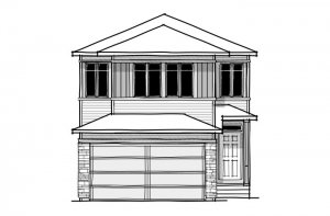 New home in SERENO in Cornerbrook, 2,385 SQ FT, 4 Bedroom, 2.5 Bath, Starting at 535,000 - Cardel Homes Calgary