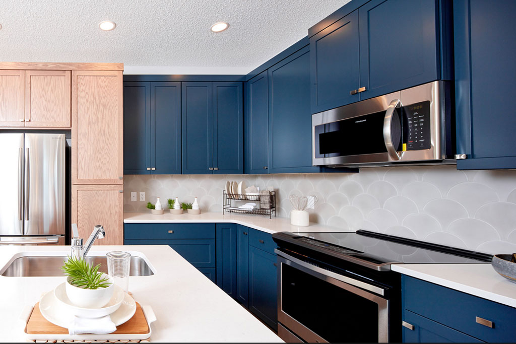 Mensa 2 model home in Walden, Calgary by Cardel Homes
