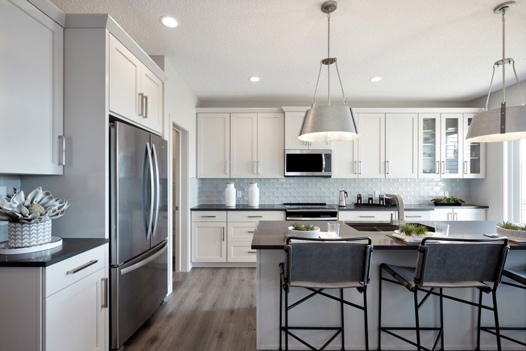 Strand model home in Walden, Calgary by Cardel Homes