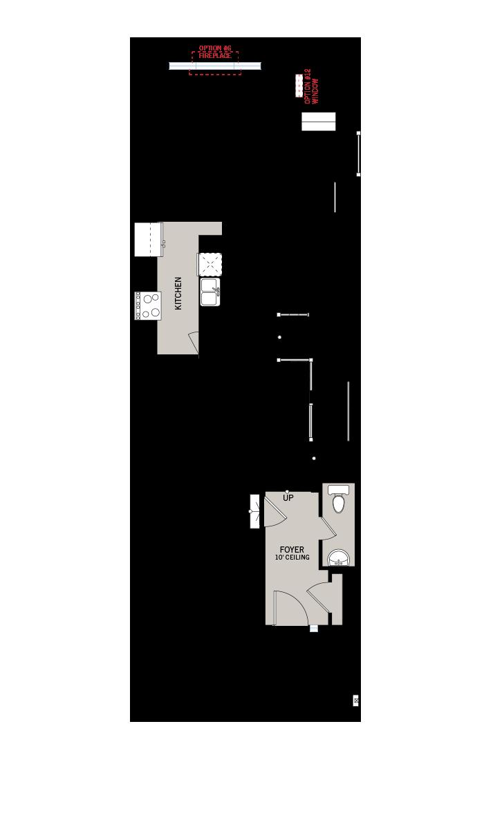Base floorplan of Forest - Alder - Elevation A - 2,237 sqft, 3 Bedroom, 2.5 Bathroom - Cardel Homes Ottawa