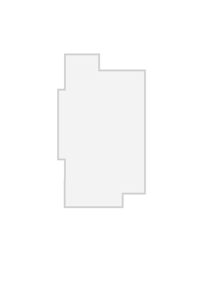 Base floorplan of CAPELLA 2 BSPS - Canadiana A1 - 1,611 sqft, 2 Bedroom, 2 Bathroom - Cardel Homes Ottawa