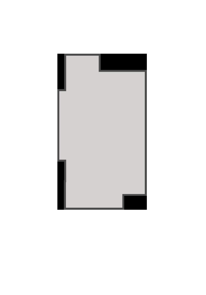 Base floorplan of LANCASTER-PS - Urban Modern A3 - 1,678 sqft, 3 Bedroom, 2 Bathroom - Cardel Homes Ottawa