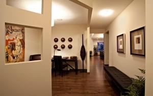Bayview 3 - Urban Modern F3 Gallery - Baview 3 Foyer  - 2,139 sqft, 3 Bedroom, 2.5 Bathroom - Cardel Homes Calgary