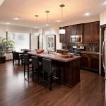 Bayview 3 - Urban Modern F3 Gallery - Bayview 3 Kitchen 4  - 2,139 sqft, 3 Bedroom, 2.5 Bathroom - Cardel Homes Calgary
