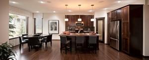 Bayview 3 - Urban Modern F3 Gallery - Bayview 3 Kitchen 5  - 2,139 sqft, 3 Bedroom, 2.5 Bathroom - Cardel Homes Calgary