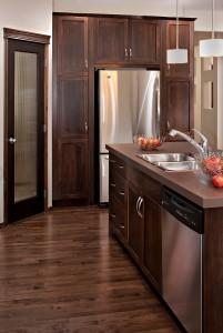 Bayview 3 - Urban Modern F3 Gallery - Bayview 3 Kitchen  - 2,139 sqft, 3 Bedroom, 2.5 Bathroom - Cardel Homes Calgary