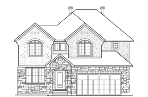 Denali - Chateau Elevation - 2,706 sqft, 3 Bedroom, 2.5 Bathroom - Cardel Homes Ottawa