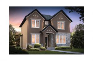 Huxley - Huxley A2 Elevation - 2,387 sqft, 3 Bedroom, 2.5 Bathroom - Cardel Homes Ottawa