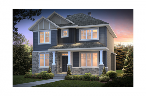 Sheffield - Sheffield A1 Elevation - 2,543 sqft, 3 Bedroom, 2.5 Bathroom - Cardel Homes Ottawa