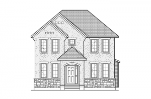 Sheffield - Sheffield A2 Elevation - 2,543 sqft, 3 Bedroom, 2.5 Bathroom - Cardel Homes Ottawa