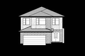 Montage - Modern Urban A2 Elevation - 2,020 sqft, 3 Bedroom, 2.5 Bathroom - Cardel Homes Ottawa