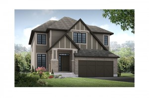 Devlyn - R7 English Heritage Elevation - 2,259 sqft, 4 Bedroom, 2.5 Bathroom - Cardel Homes Ottawa